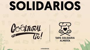 Cartel promocional de CoolFest y Ruta de la tapa solidaria.