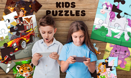 Kids Puzzles apkslow screenshots 1
