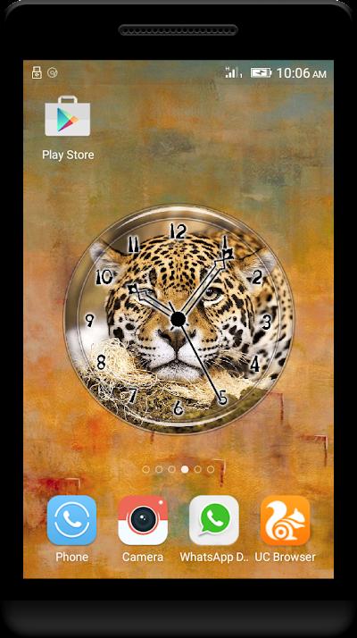 Jaguar Clock Live Wallpaper Apk Download Apkindocoid
