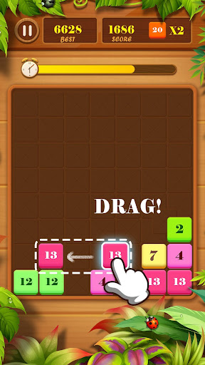 Drag n Merge: Block Puzzle screenshots 3