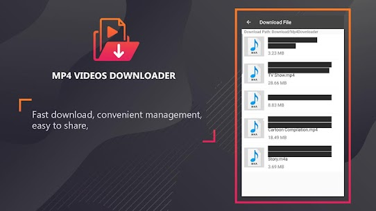 Mp4 video downloader – Download video mp4 format Apk Latest Version Download For Android 4