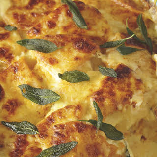 Butternut Squash and Sage Gratin.