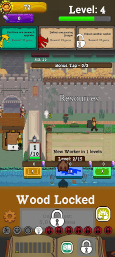 Idle Settlement: Resource Management Tycoon screenshot 2