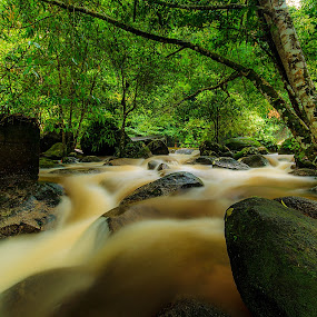 Raging water by Jali Razali - Landscapes Waterscapes (  )