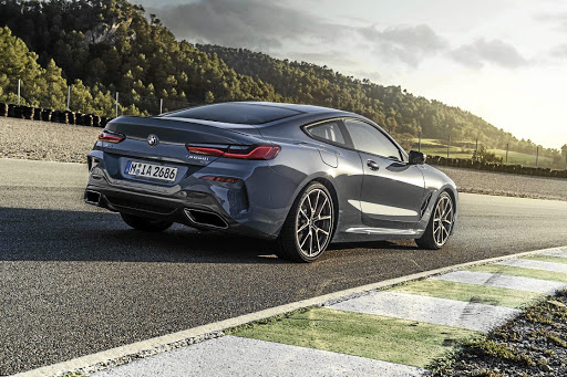 The new BMW 8 Series will be the brand's new flagship luxury coupe. Picture: SUPPLIED