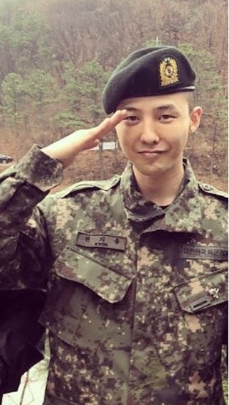 Joo Won Is G-Dragon's Army Drill Instructor, Here's What ...