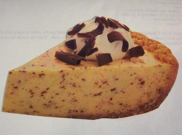Eggnog Pie W/a Macaroon Crust..for Santa ? Recipe