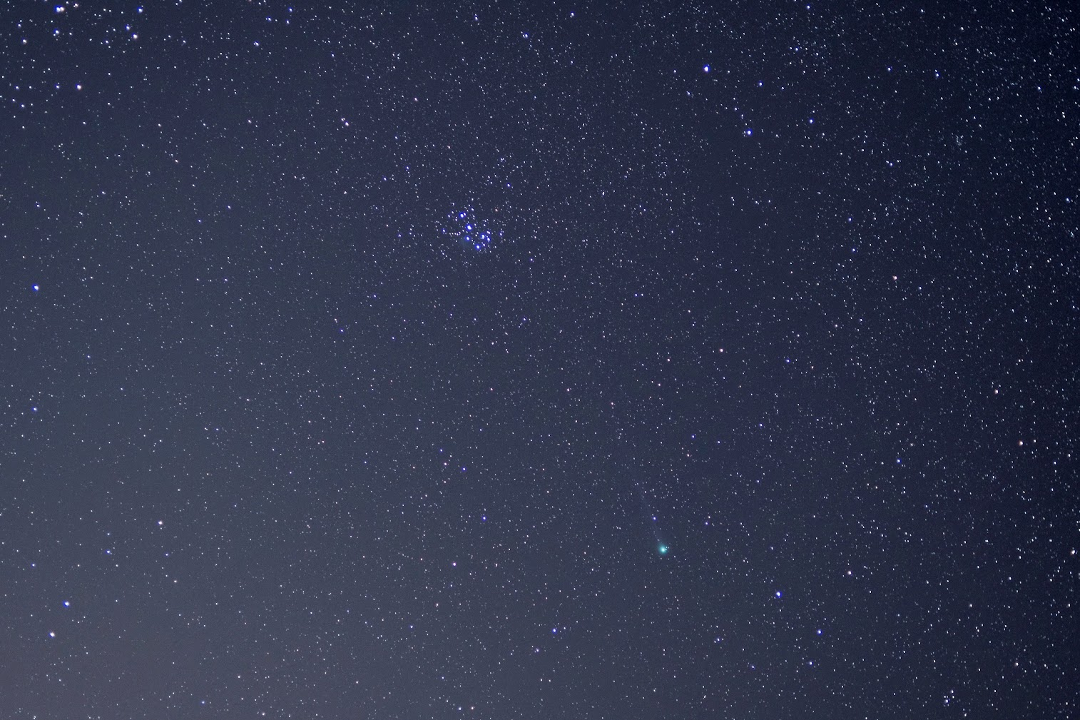 Comet Lovejoy (C-2014 Q2) on January 20, 2015