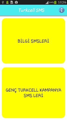 Turkcell' e SMS Gönder