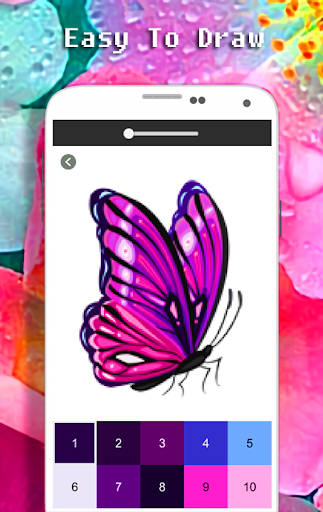 Butterfly Coloring Book - Color By Number apkdebit screenshots 5