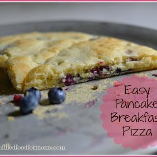 Easy Pancake Breakfast Pizza Recipe