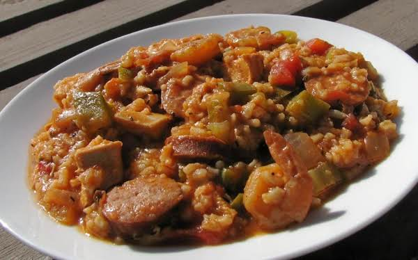 Shrimp And Chicken Jambalaya Recipe