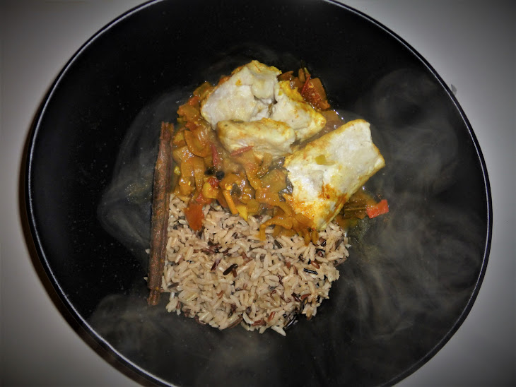 Lightly Spiced Healthy Hake Curry Recipe