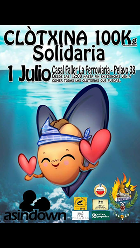 Clòtxina Solidaria en Bailen-Jativa