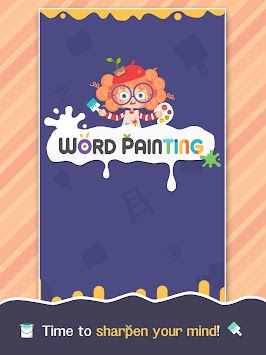 Word Painting - Search, connect & blast letters