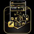 Decent Black Golden Theme