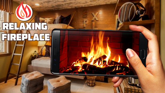 Simulator of fireplace – Apps on Google Play