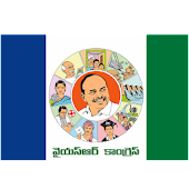 YSRCP Stickers for Whatsapp