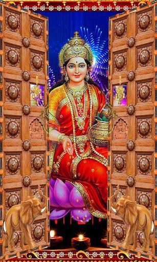 Happy Diwali Temple Door Lock
