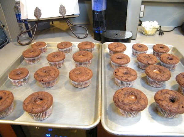 Bake for 18-22 minutes or until several cupcakes pricked with a toothpick come out...