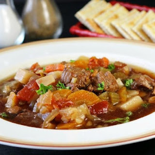 Crock Pot Vegetable Beef Soup