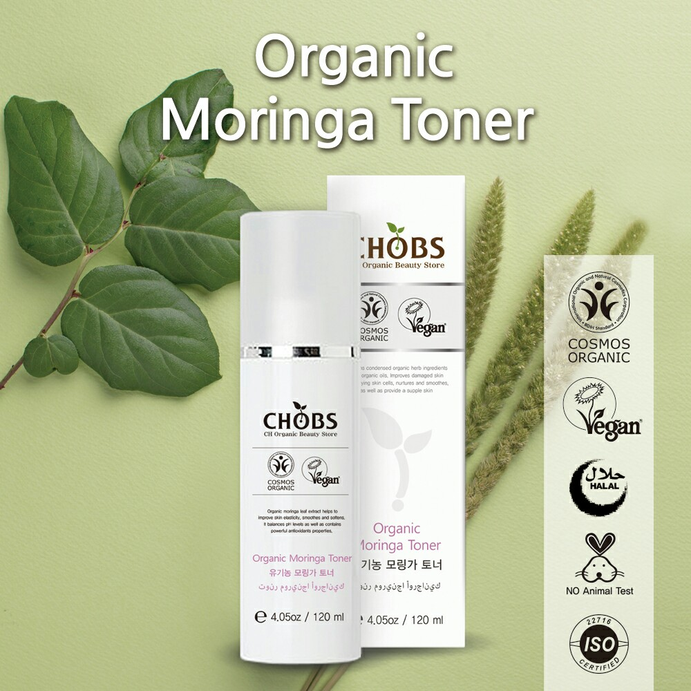 (CHOBS) Organic Moringa Toner 有機辣木爽膚水