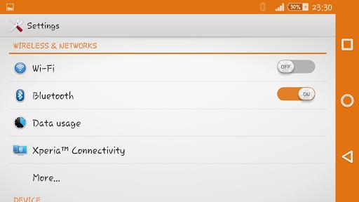 Silent Beast Xperien Theme screenshot 4
