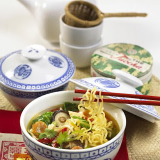 Ramen Noodles with Chicken and Vegetables Recipe