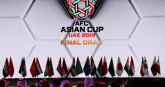Final Draw of AFC Asian Cup 2019- Friday, 4 May 2018