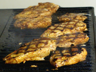 Grilled Chicken A L' Orange Recipe