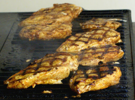 Grilled Chicken a L' Orange Recipe