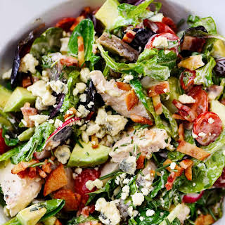 Rosemary Chicken Salad Recipe with Rosemary Ranch Dressing.