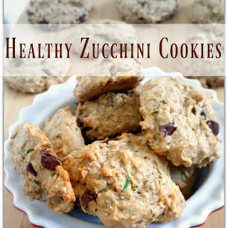 Healthy Zucchini Cookies