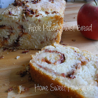 Apple Pecan Twist Bread
