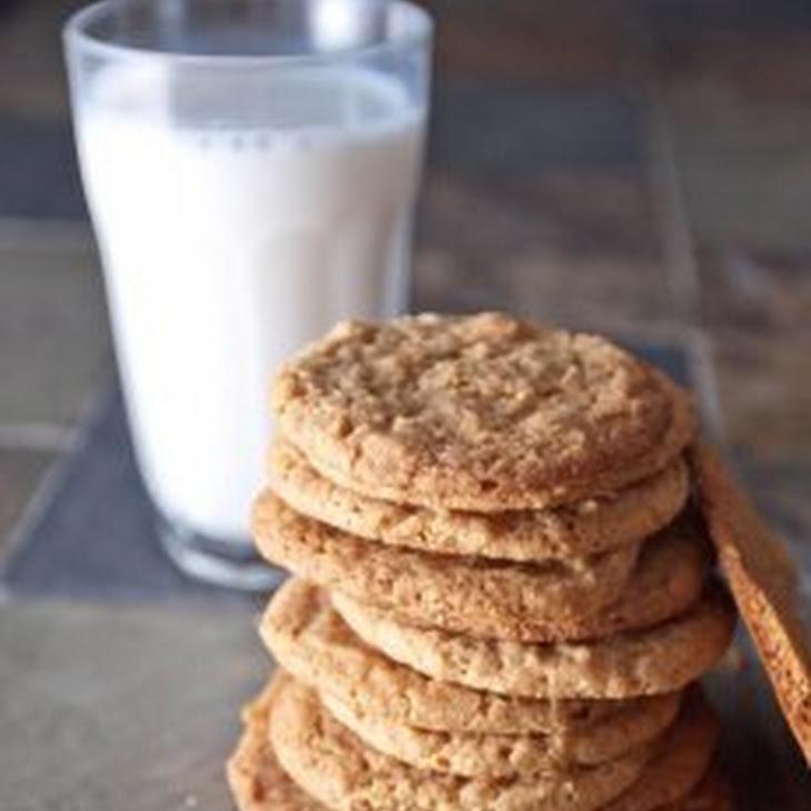 Egg-Less Peanut Butter Cookies Recipe