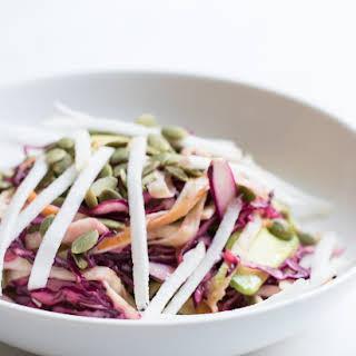 Turnip Plant Crush - Simple Turnip Salad.