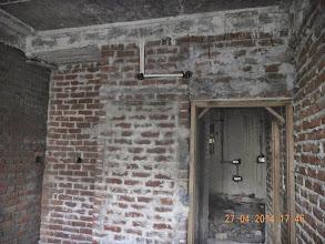 Photo: Electric Conduit, GF Front Bedroom, near Almira