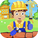 Builder for kids icon