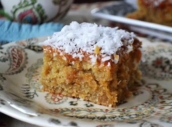 Grandma's Best Lazy Daisy Oatmeal Cake