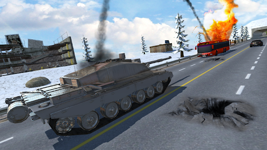 Tank Traffic Racer 2 5