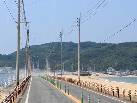 西鉄バス宗像「志賀島ぐりーん」 5718 車窓 その2
