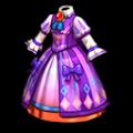 紫のかにみの服B