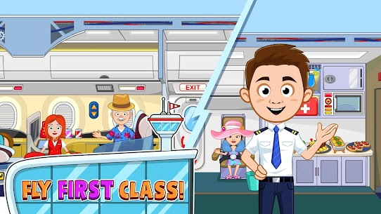 My Town : Airport MOD (Paid Content) 2