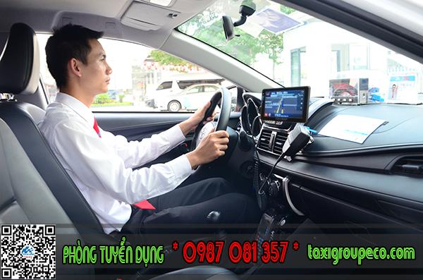 Taxi Group Eco tuyển lái xe taxi