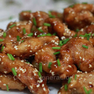 Chinese Sesame Chicken.