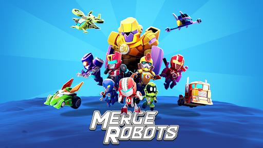 Merge Robots - Idle Tycoon Games 2019 1.1.2 screenshots 1