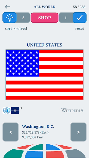 World Flags Quiz : The Flags of the World  {cheat|hack|gameplay|apk mod|resources generator} 1