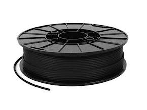NinjaTek NinjaFlex Midnight Black TPE Filament - 1.75mm