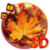 3d Glass Tech Leaf Theme