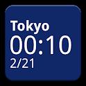 Simple World Clock Widget icon